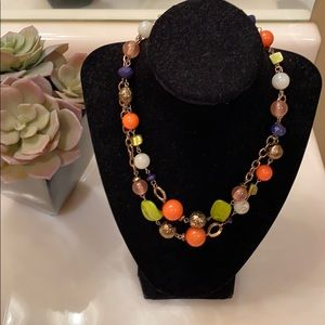 Ruby Rd. beaded necklace